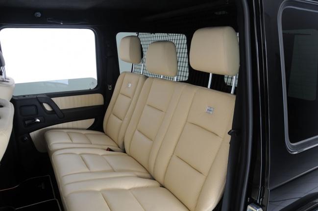 Интерьер G V12 S Biturbo Widestar от Brabus