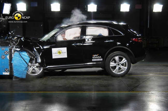 Infiniti FX crash test