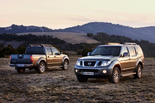 Nissan Navara и Nissan Pathfinder 2011