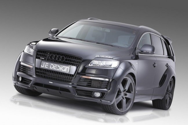 JE Design Q7 S-line widebody