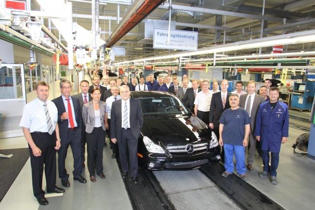 Последний Mercedes CLS сошел с конвейера