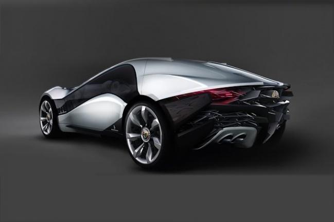 Alfa Romeo Pandion Sports Coupe Concept от Bertone