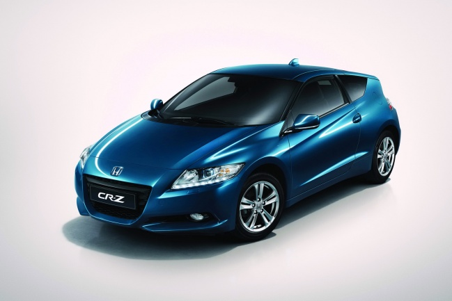 Европейское купе Honda CR-Z hybrid