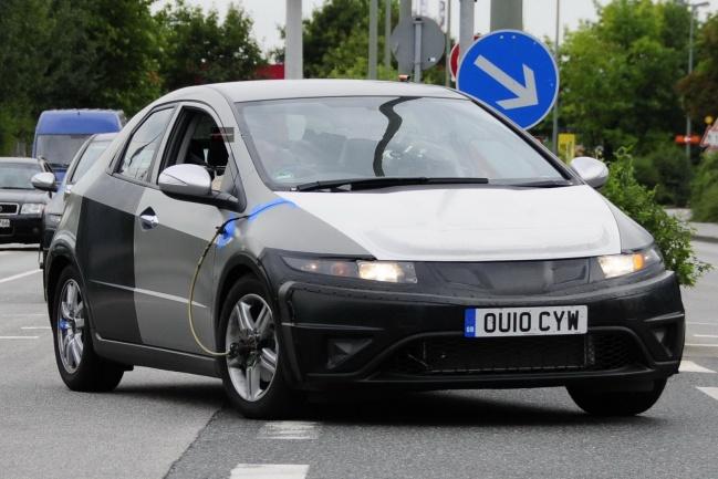 Honda Civic EV Hybrid Prototype