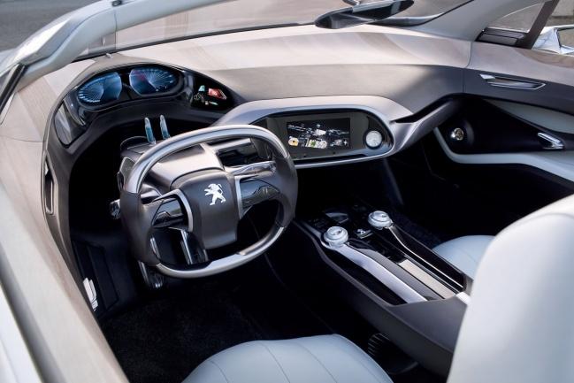 Peugeot SR1 concept interior