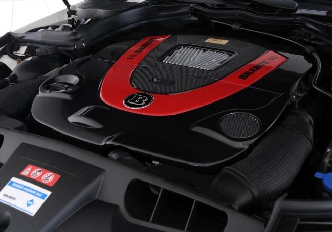 Двигатель Mercedes-Benz E-Class Cabriolet от BRABUS
