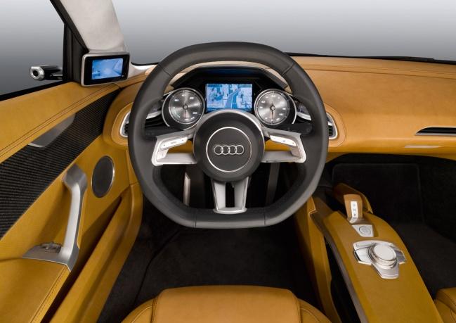 Audi E-Tron concept interior