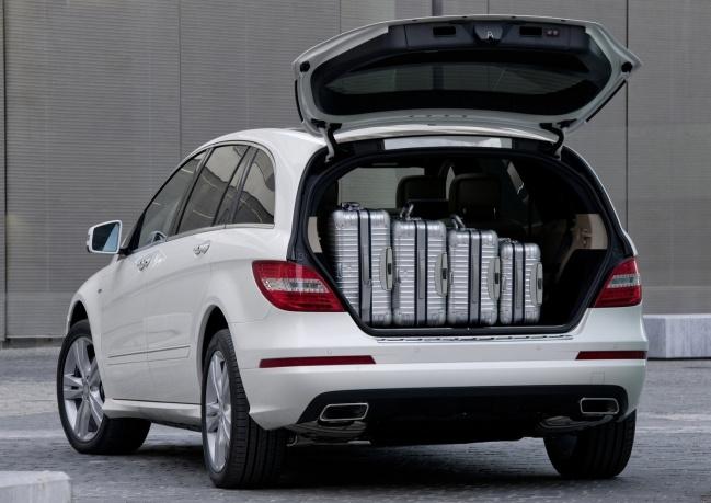 Стартовали продажи Mercedes-Benz R-Class в России