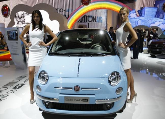 Открытие Парижского всемирного автосалона - 2010