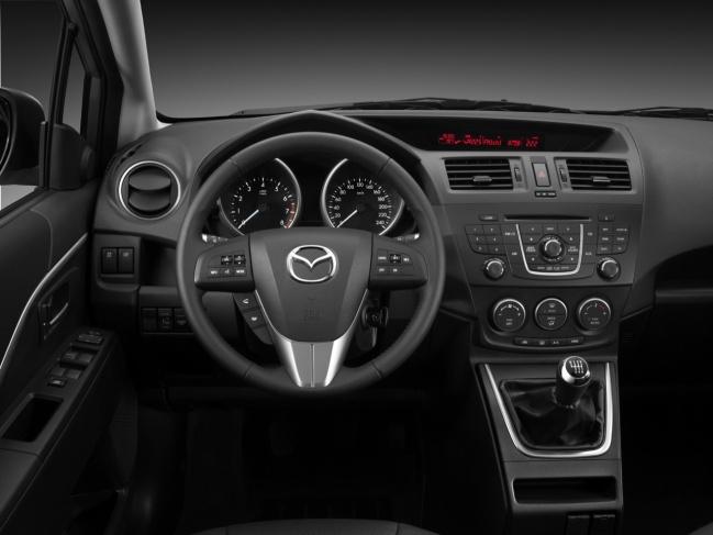 Mazda5 2010 interior