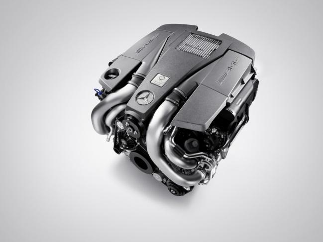 Mercedes-Benz S63 AMG 2011 engine