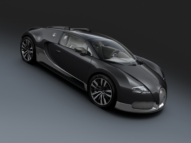 Bugatti Veyron Grand Sport Grey Carbon