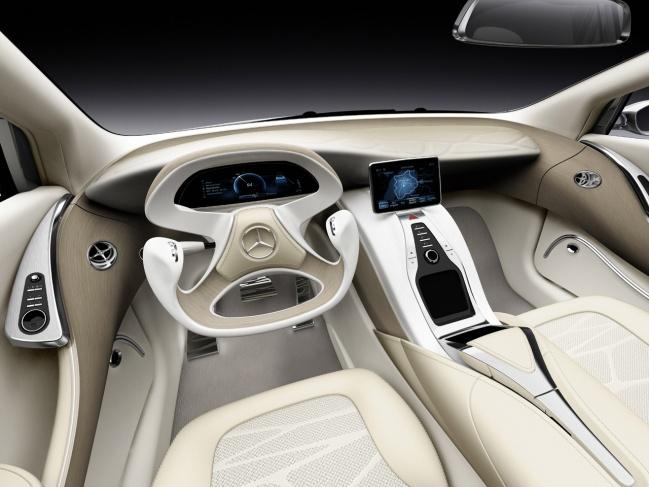 Mercedes-Benz F800 concept interior