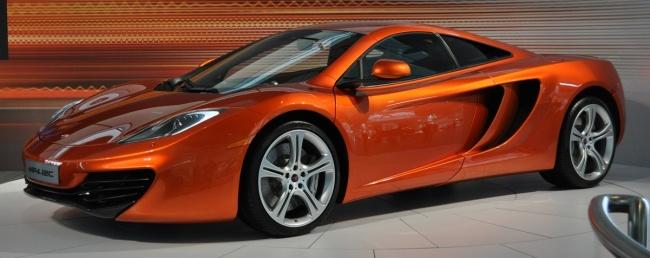 Объявлены цены на новый McLaren MP4-12C
