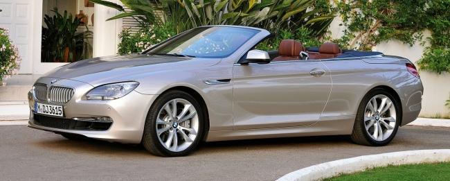Опубликованы цены на кабриолеты BMW 650i и  BMW 640i в России
