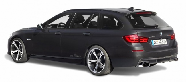 BMW 5-Series Power Treatment от AC Schnitzer