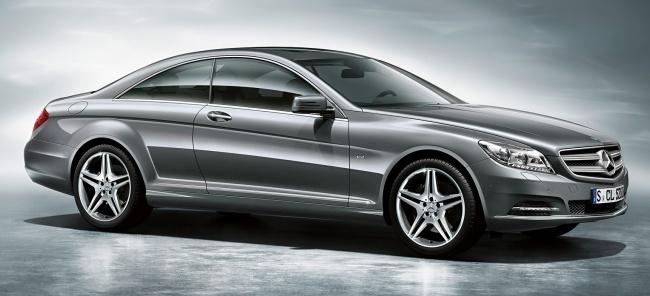 Объявлены российские цены на новое купе Mercedes-Benz CL-Class