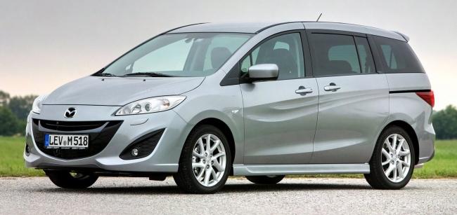 В России начались продажи нового поколения Mazda5