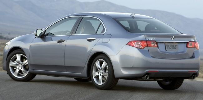 L.A. Auto Show - 2010: Acura TSX
