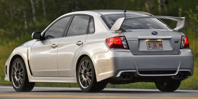 Объявлены российские цены на новый Subaru WRX STI 2011