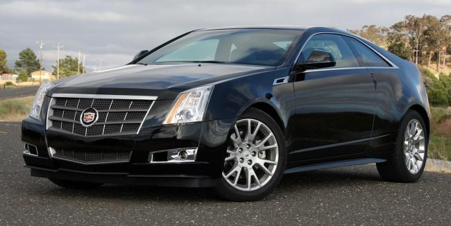 ММАС-2010: Российская премьера Cadillac CTS Coupe