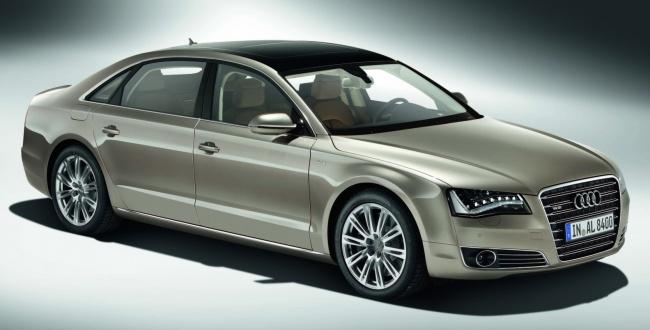 Стартовали продажи удлиненной версии Audi A8 L в России