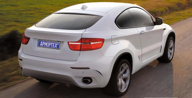 bmw x6 coupe armortech