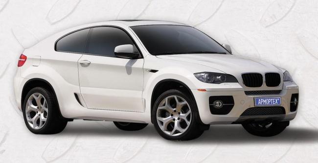 Российская версия BMW X6 Coupe представлена компанией ArmorTech