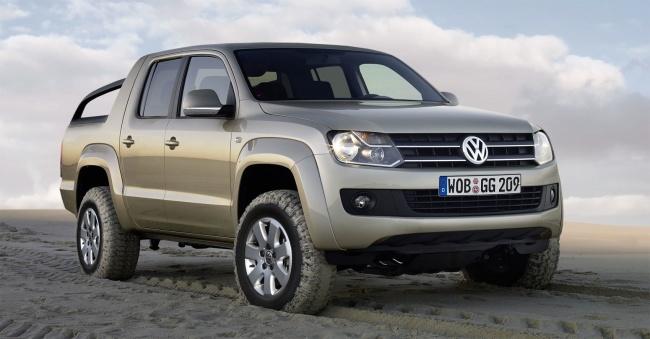 Новый пикап от Volkswagen покажут в августе