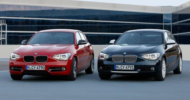 Состоялась официальная премьера обновленной BMW 1-Series