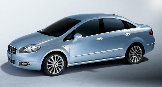 Fiat Linea начали собирать в России