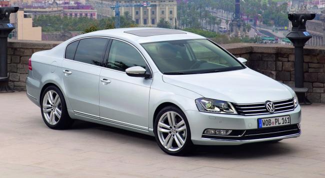 Российские цены на автомобили Volkswagen выросли