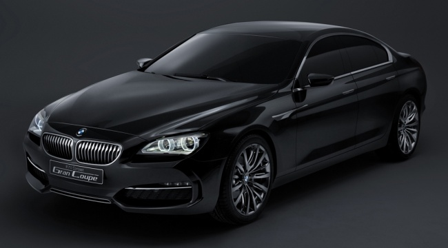BMW привезет на Московский автосалон Gran Coupe Concept