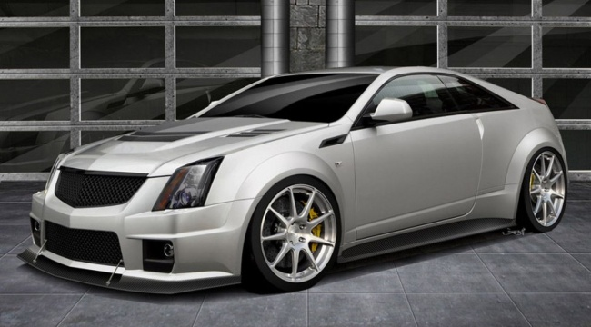 Cadillac Twin Turbo V1000 CTS-V от Hennessey Performance