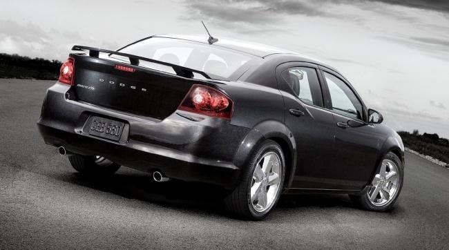 Состоялась премьера рестайлингового Dodge Avenger 2011