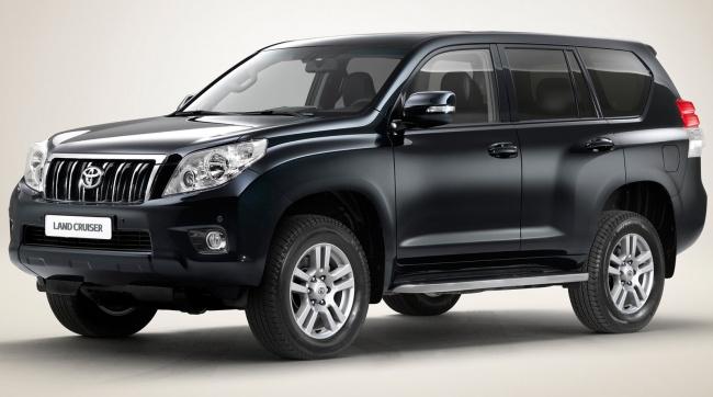 Toyota представила обновленный Land Cruiser Prado 2011