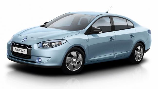 Renault привезет в Москву первый серийный электромобиль Fluence ZE