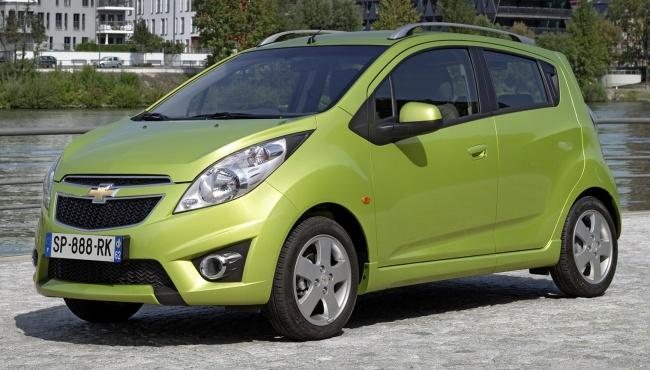 Объявлены российские цены на Chevrolet Spark