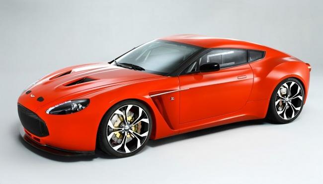 Новый суперкар Aston Martin V12 Zagato будет выпущен ограниченным тиражом