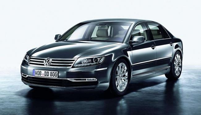 Обновленный Volkswagen Phaeton презентуют в августе