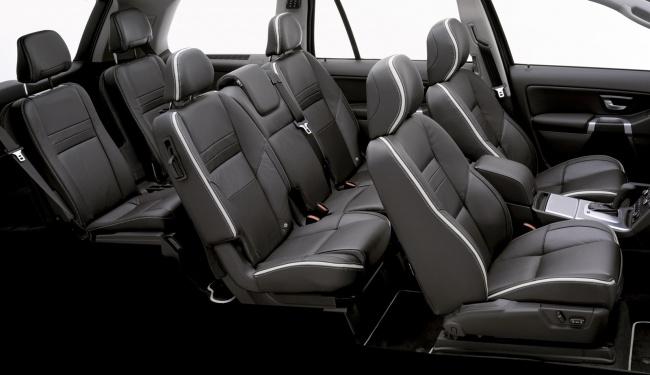 Три ряда кресел Volvo XC90 Executive