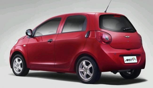 Китайский электромобиль Riich M1 EV пошел в серийное производство
