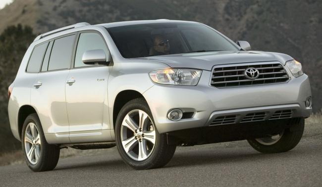Toyota представит в Москве российскую версию Higlander