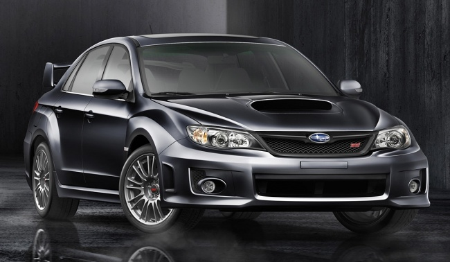Европейская премьера Subaru Impreza WRX STI 2011 состоится на Московском автосалоне