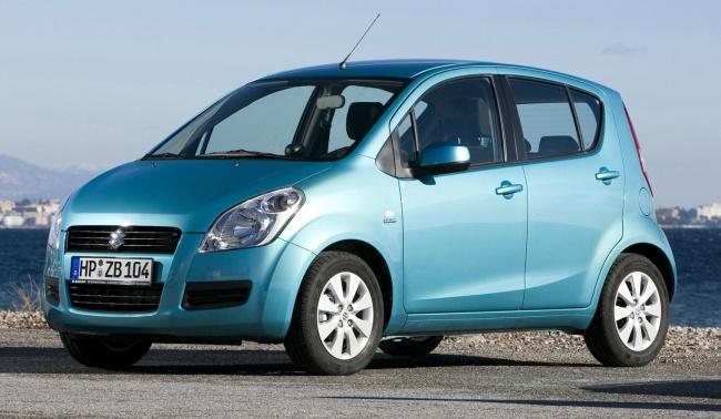 В России появились новые комплектации Suzuki Splash