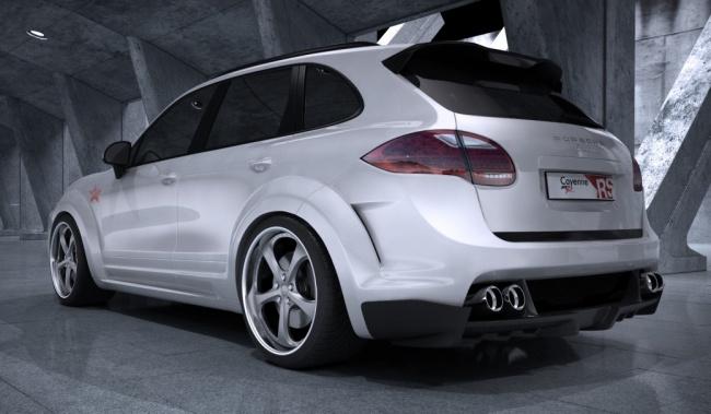 Porsche Cayenne Radical Star от MET-R