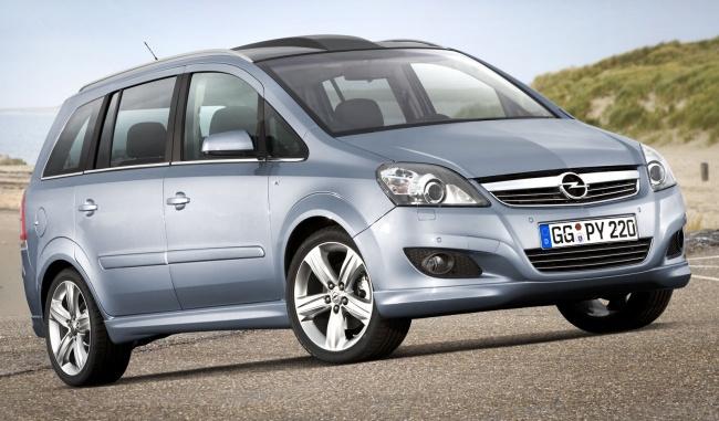 Самый продаваемый минивэн в Росии - Opel Zafira