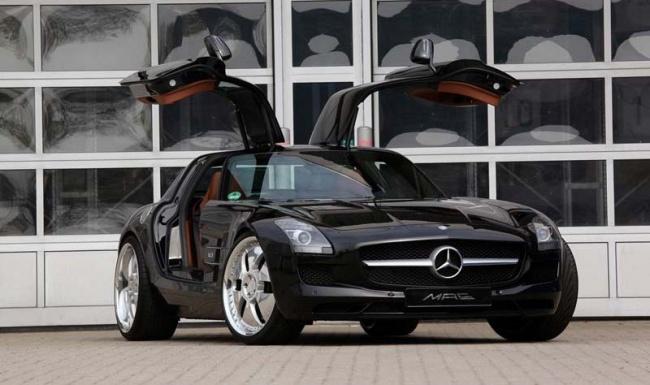 Mercedes-Benz SLS AMG от MAE Design
