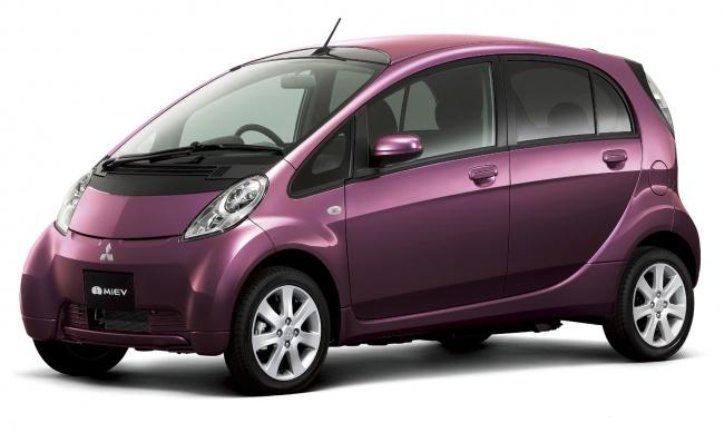 Электромобиль Mitsubishi i-MiEV покажут на Московском автосалоне