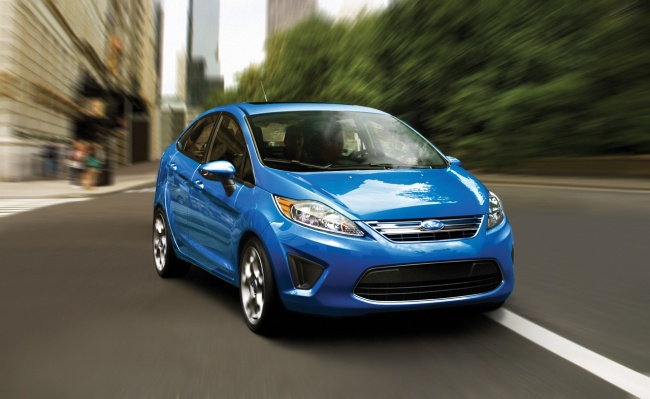 2011 Ford Fiesta US-spec